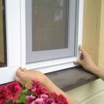 Москітна сітка на вікно - установка і виготовлення своїми руками: різні види і випадки